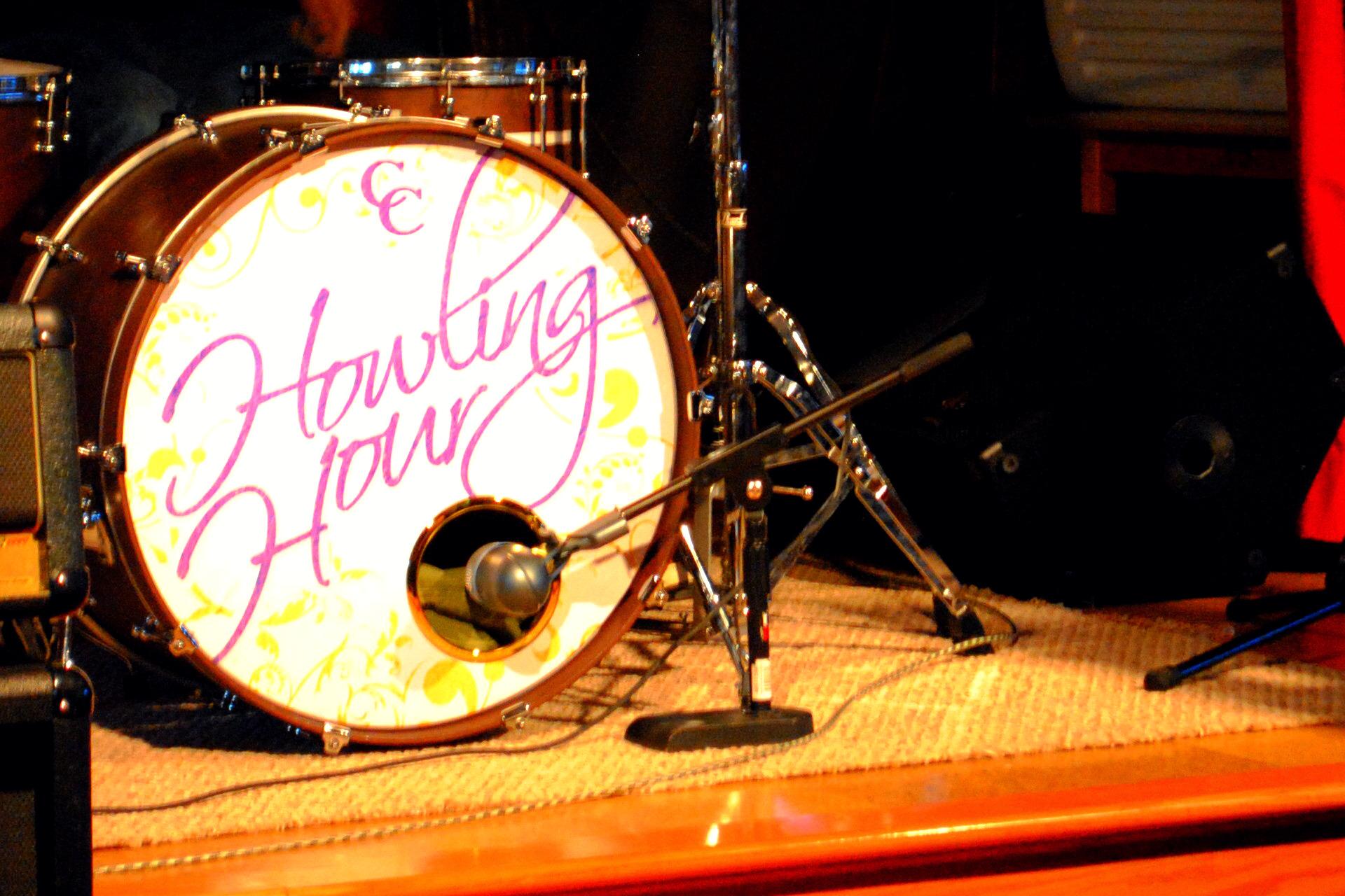 "24"" Custom Drumhead | Howling Hour"