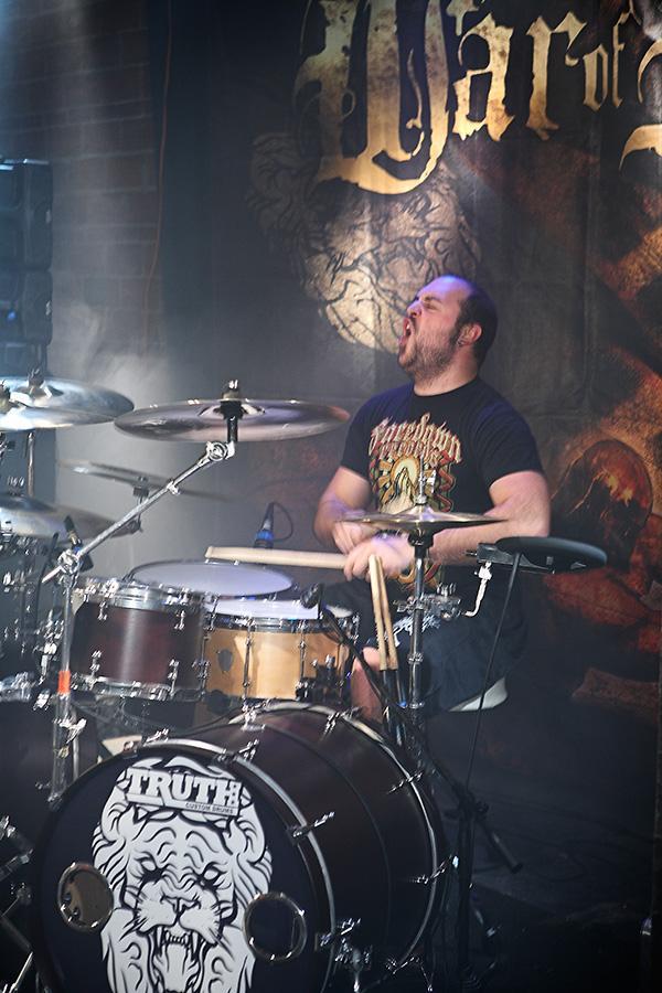 "22"" Custom Drumhead | War of Ages"
