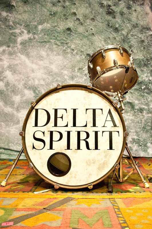 "24"" Custom Drumhead | Delta Spirit"