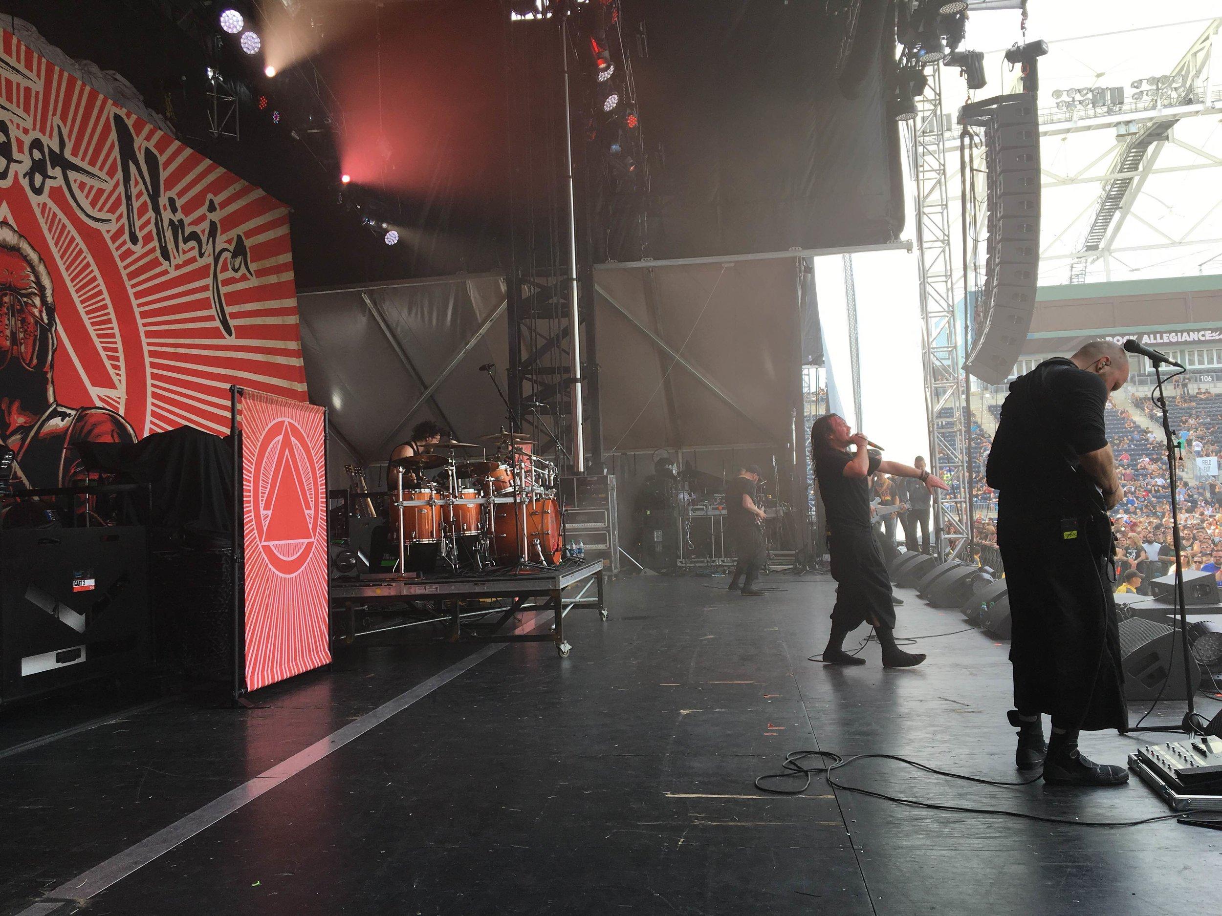 Band Backdrop & Scrims | Twelve Foot Ninja