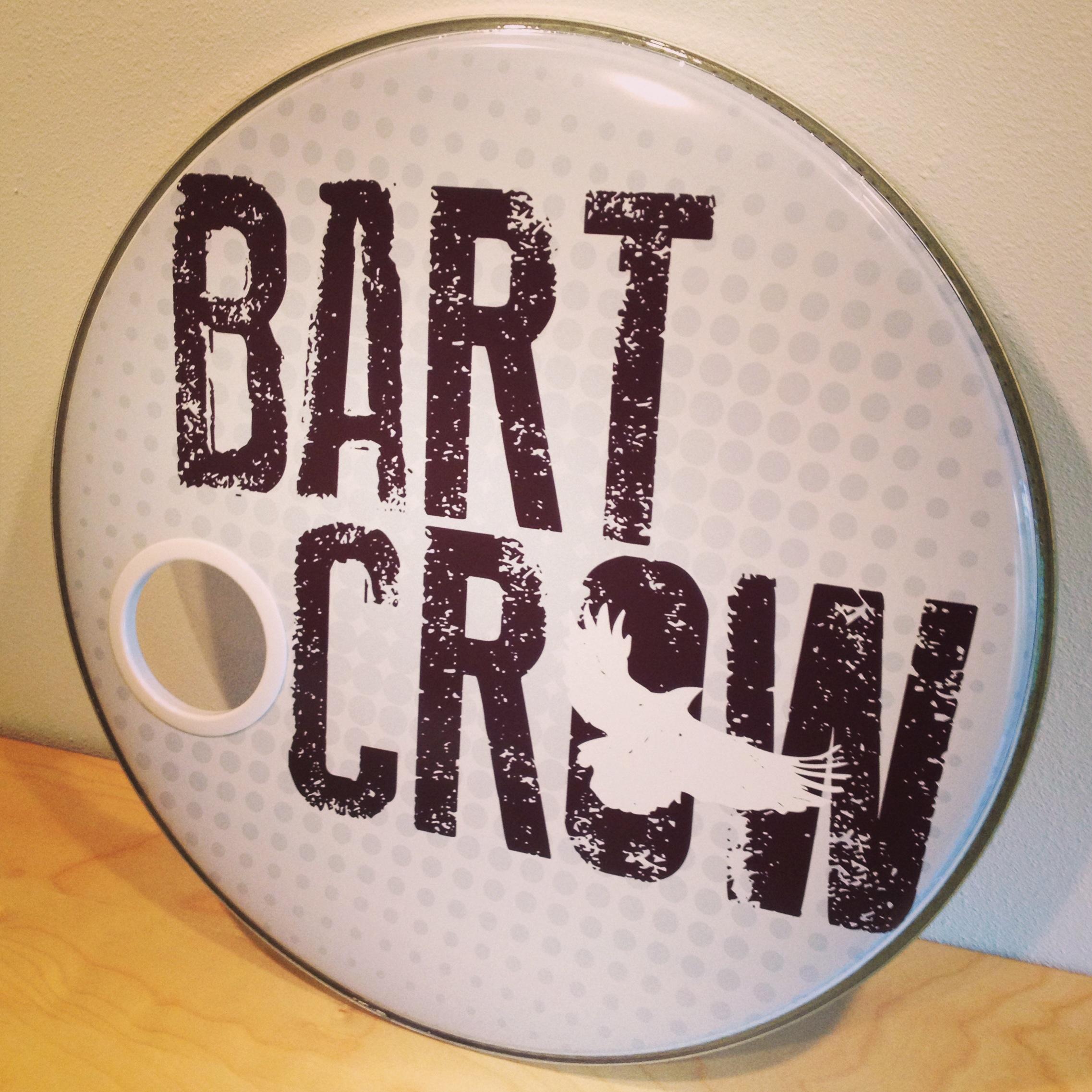 "22"" Custom Drumhead | Bart Crow"