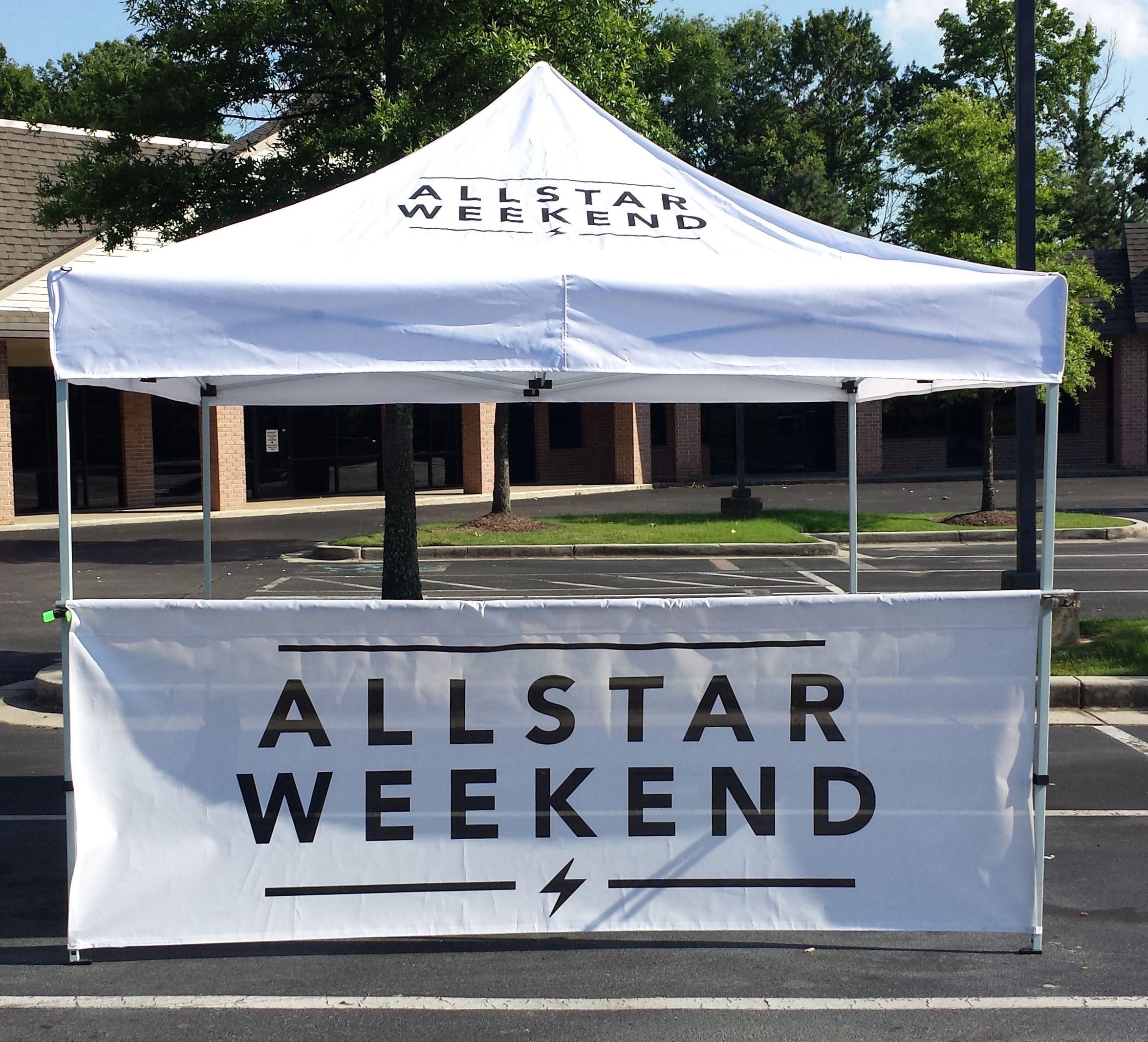 Band Merch Tent | Allstar Weekend
