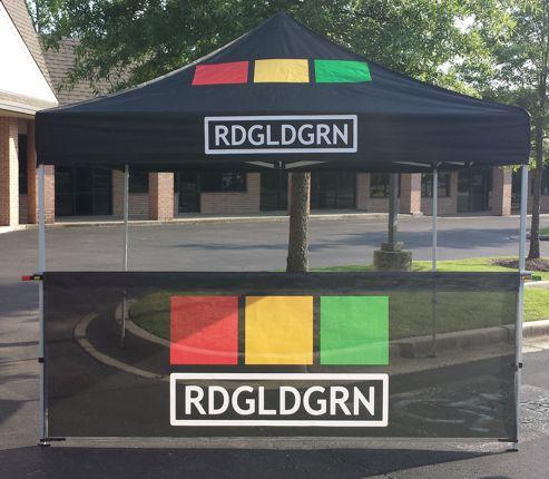 Band Merch Tent | RDGLDGRN