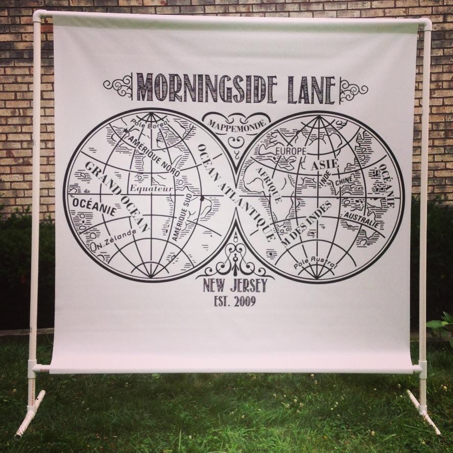 5' x 5' Band Scrims | Morningside Lane