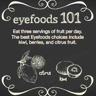 Kiwi is the highest fruit source of Vitamin C! #CWE #Healthyeyes #eyefoods