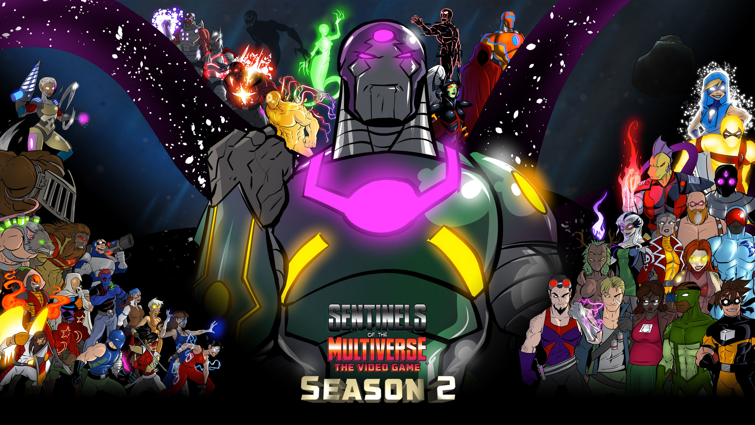 Click to download the the Season 2 wallpaper!
