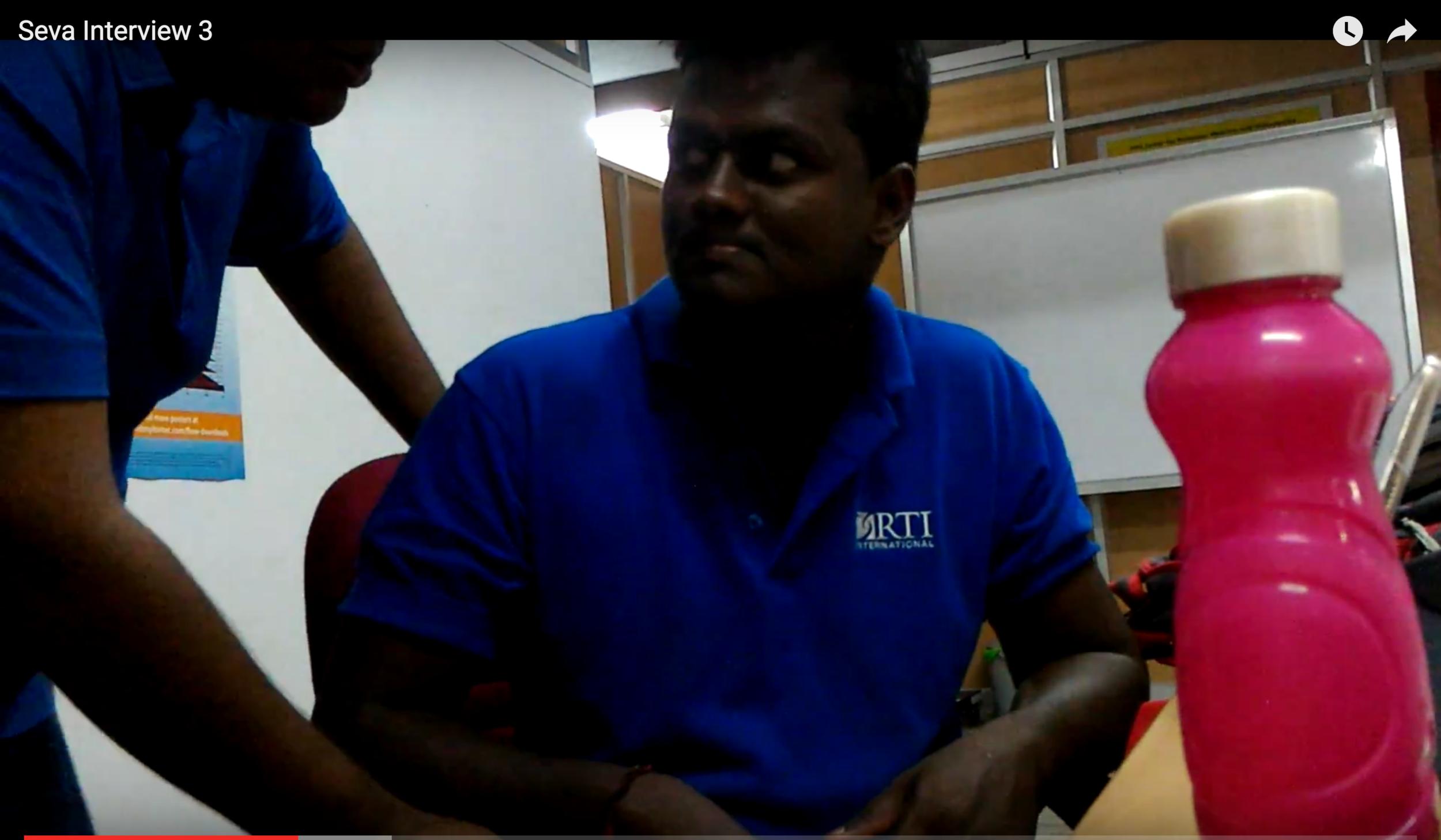 - User testing: Coimbatore, India