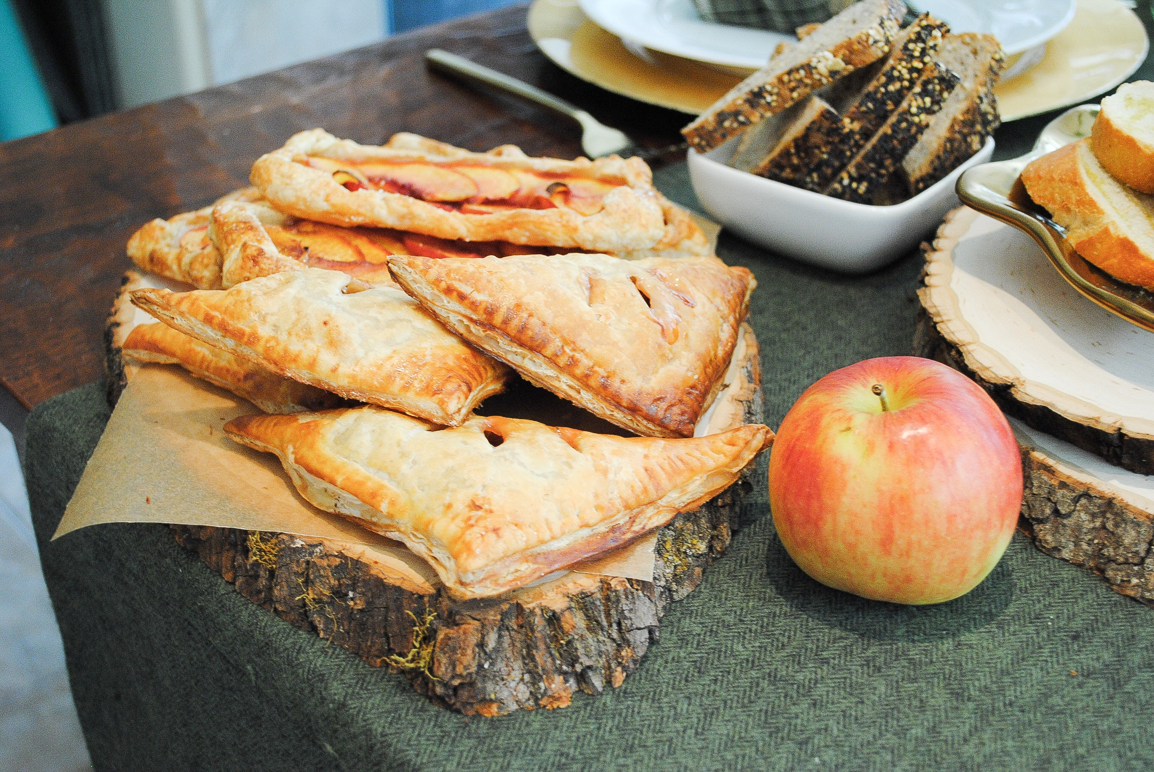 Plum and Thyme Hand Pies