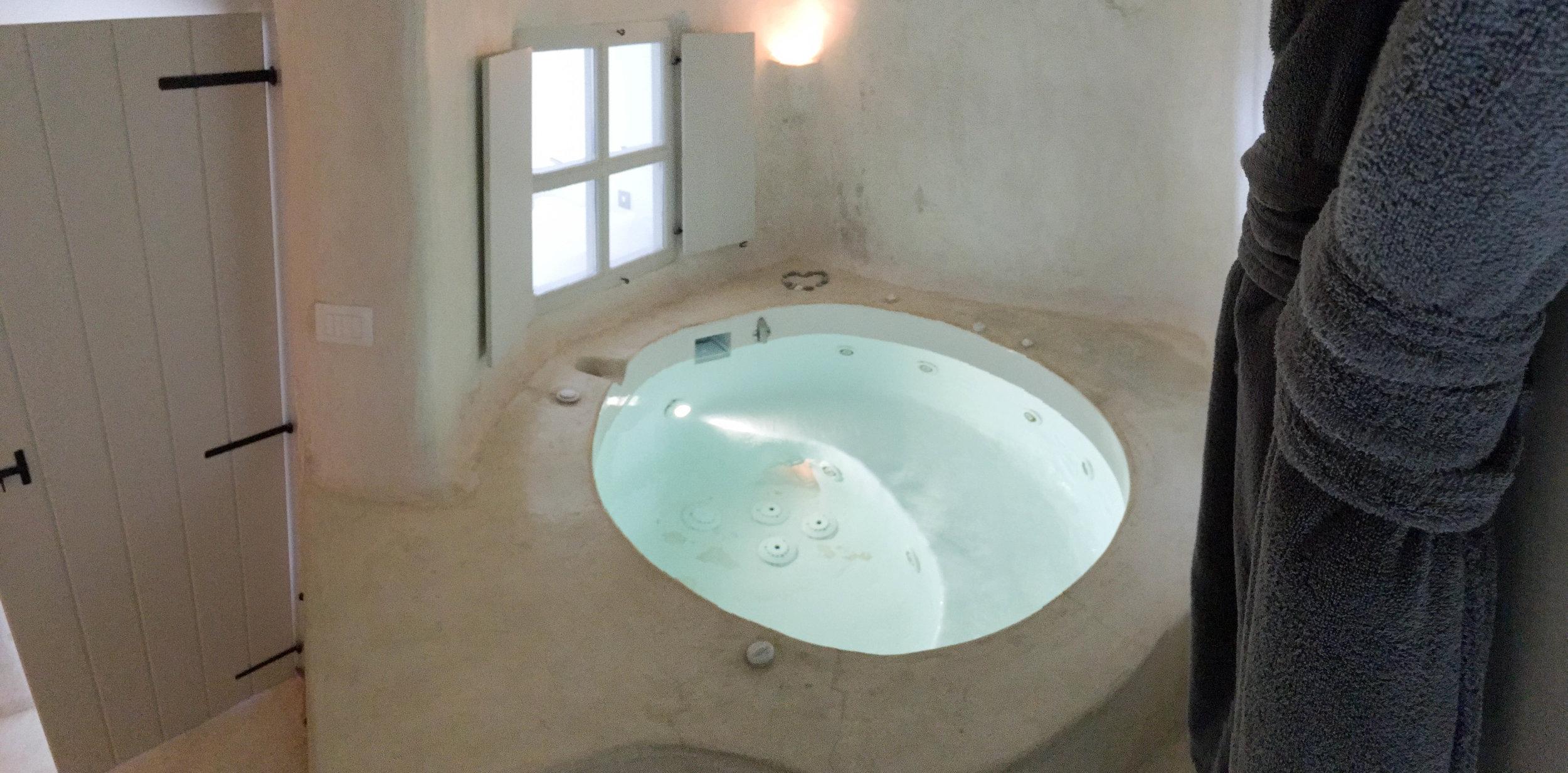 Our room at Kapari Natural Resort, Santorini, Greece