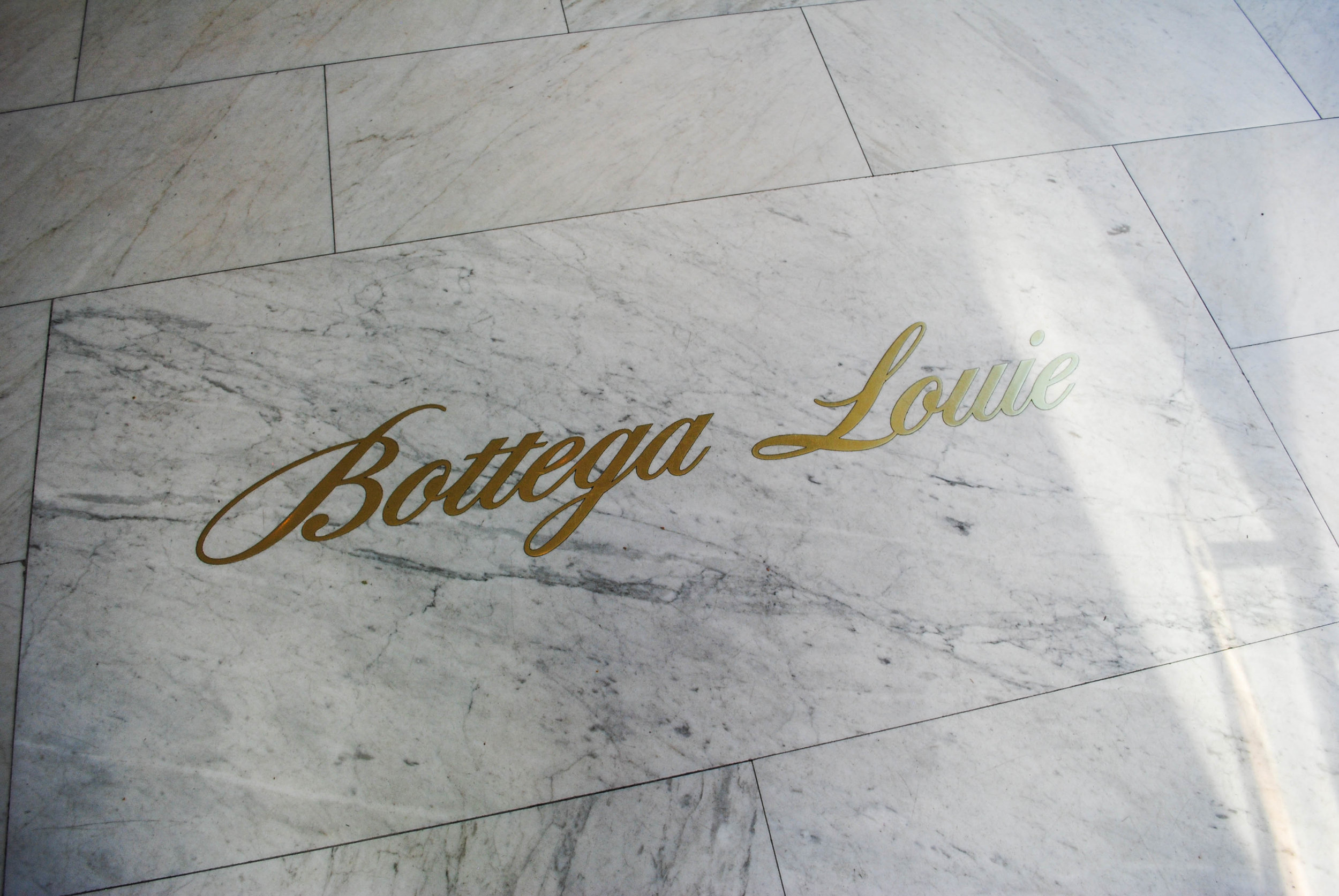 Beautiful floor at Bottega Louie, Downtown Los Angeles, CA