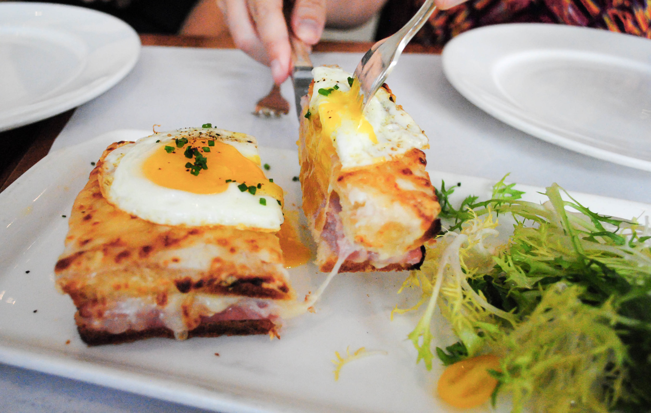 Croque Madame, Bottega Louie, Downtown Los Angeles, CA