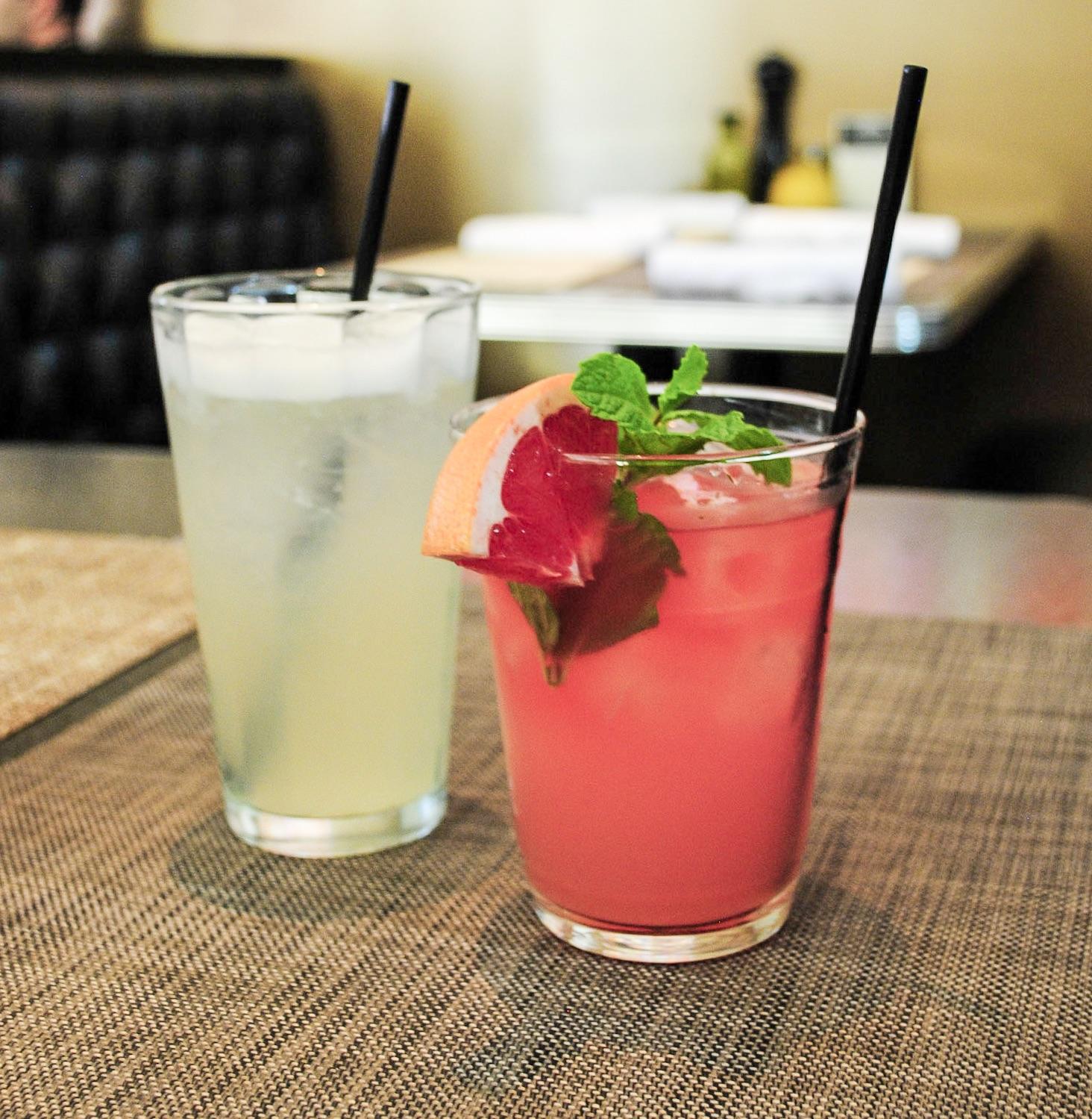 Lemonade and The Greyhound, Ingo's Tasty Diner, Santa Monica, CA