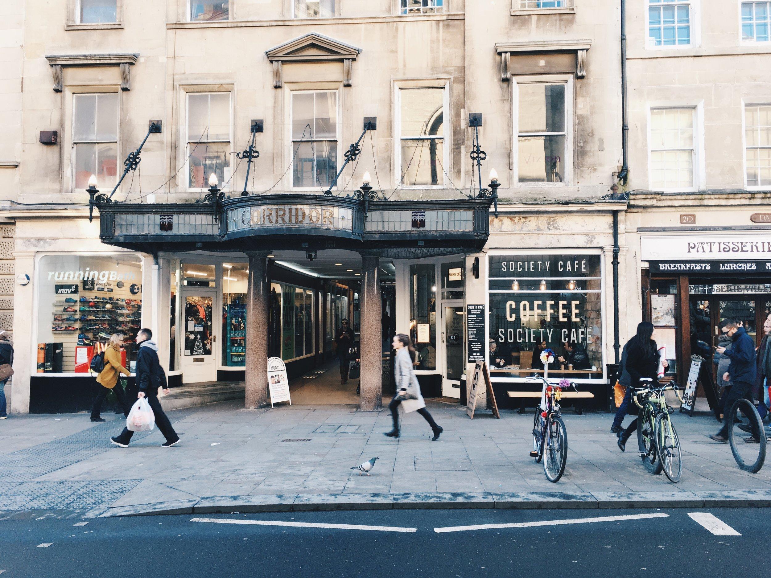 Society Café, Bath