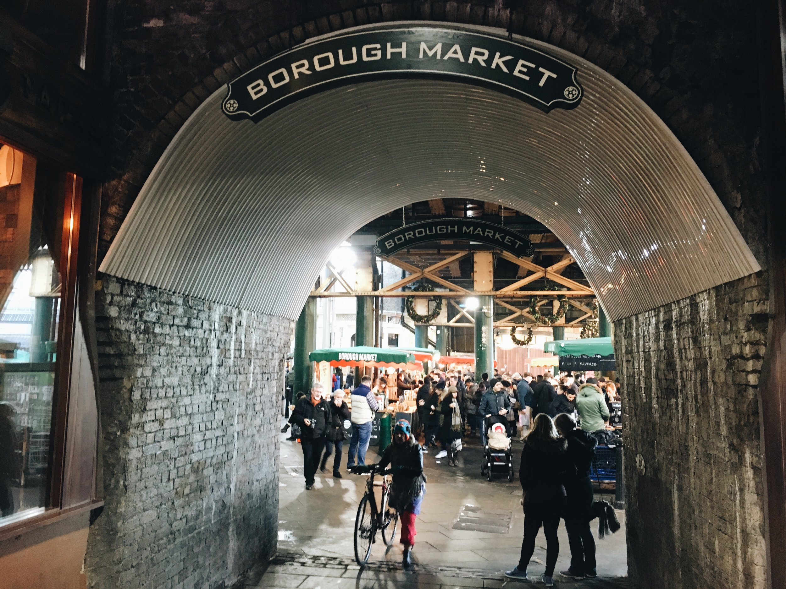 Entrance to Borough Market, London