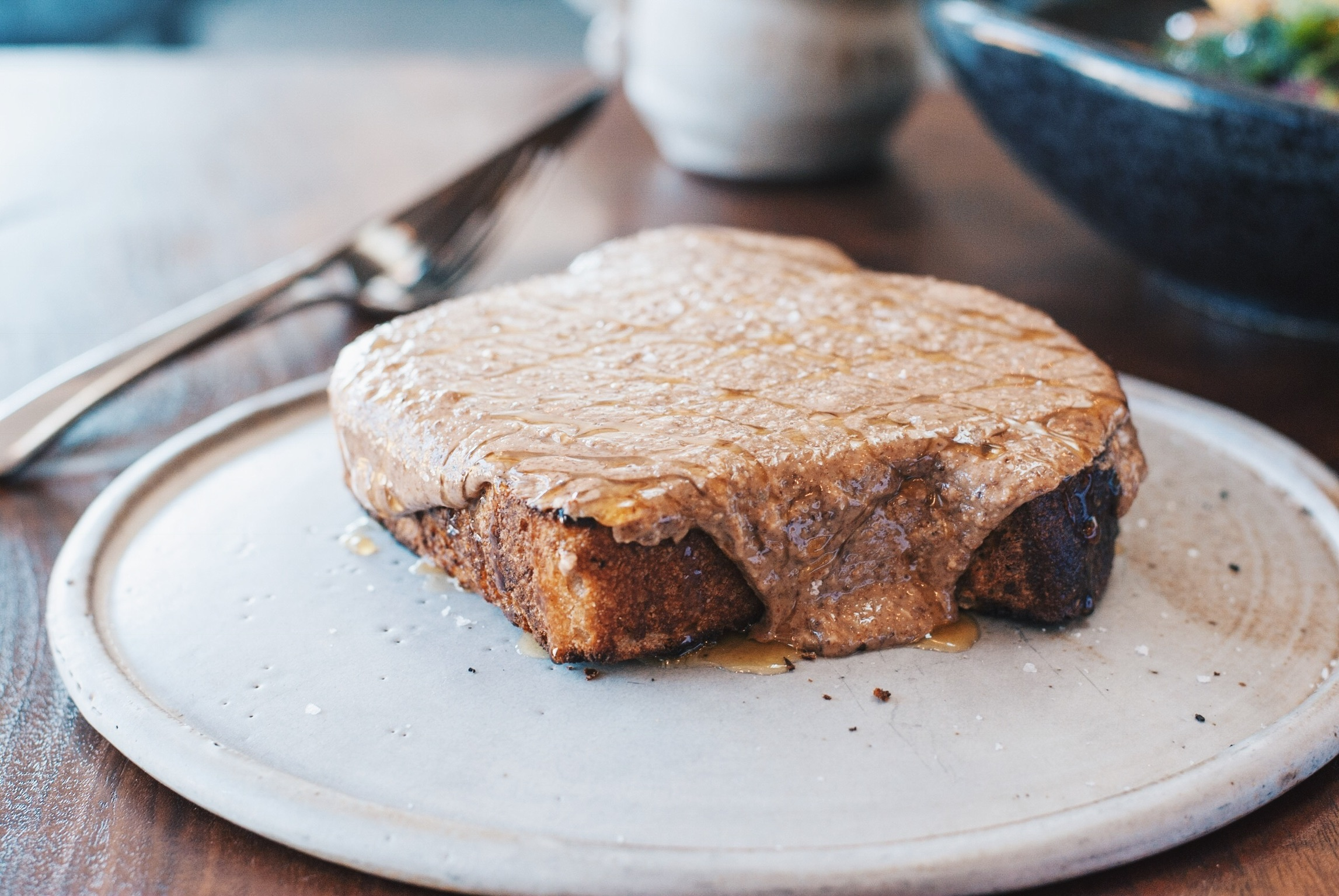 Almond Butter Toast, Lodge Bread Co., Culver City, CA