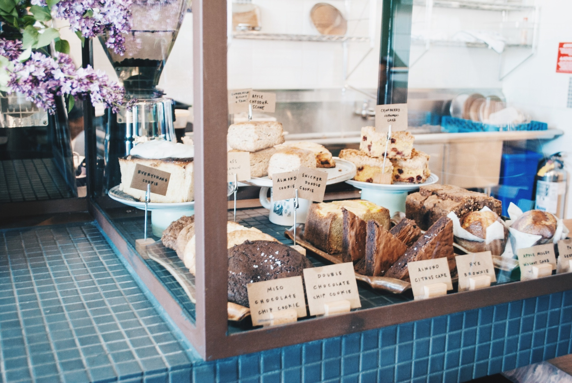 Pastries Galore at Lodge Bread Co., Culver City, CA