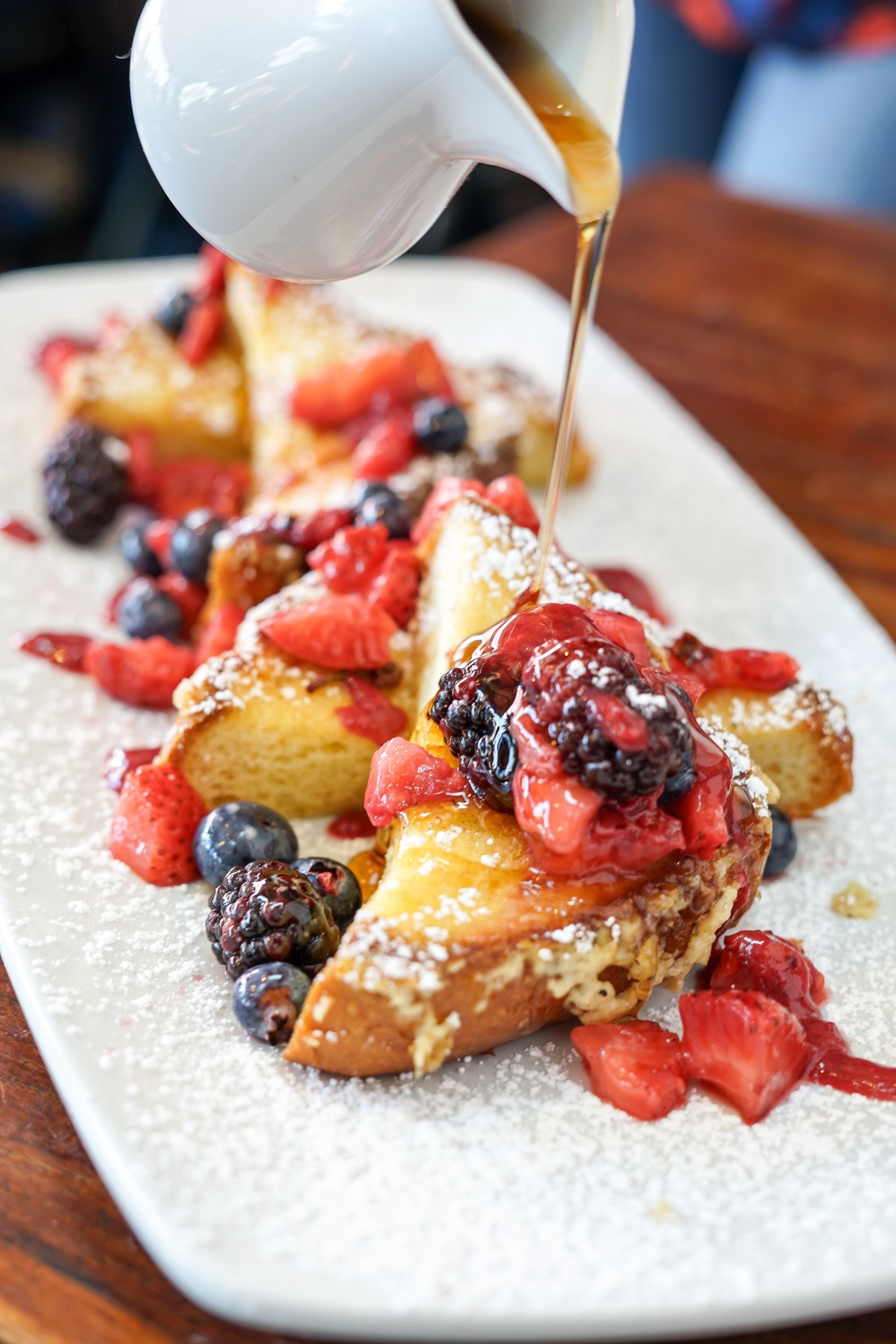 French Toast at The Rockefeller, Manhattan Beach, CA