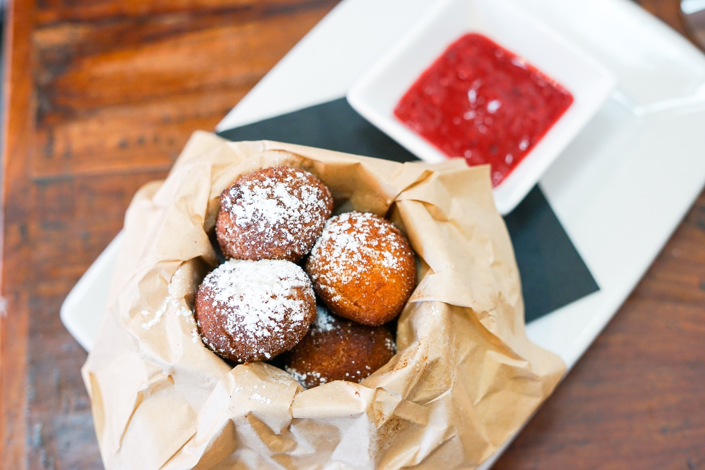 Donut Holes at The Rockefeller, Manhattan Beach, CA