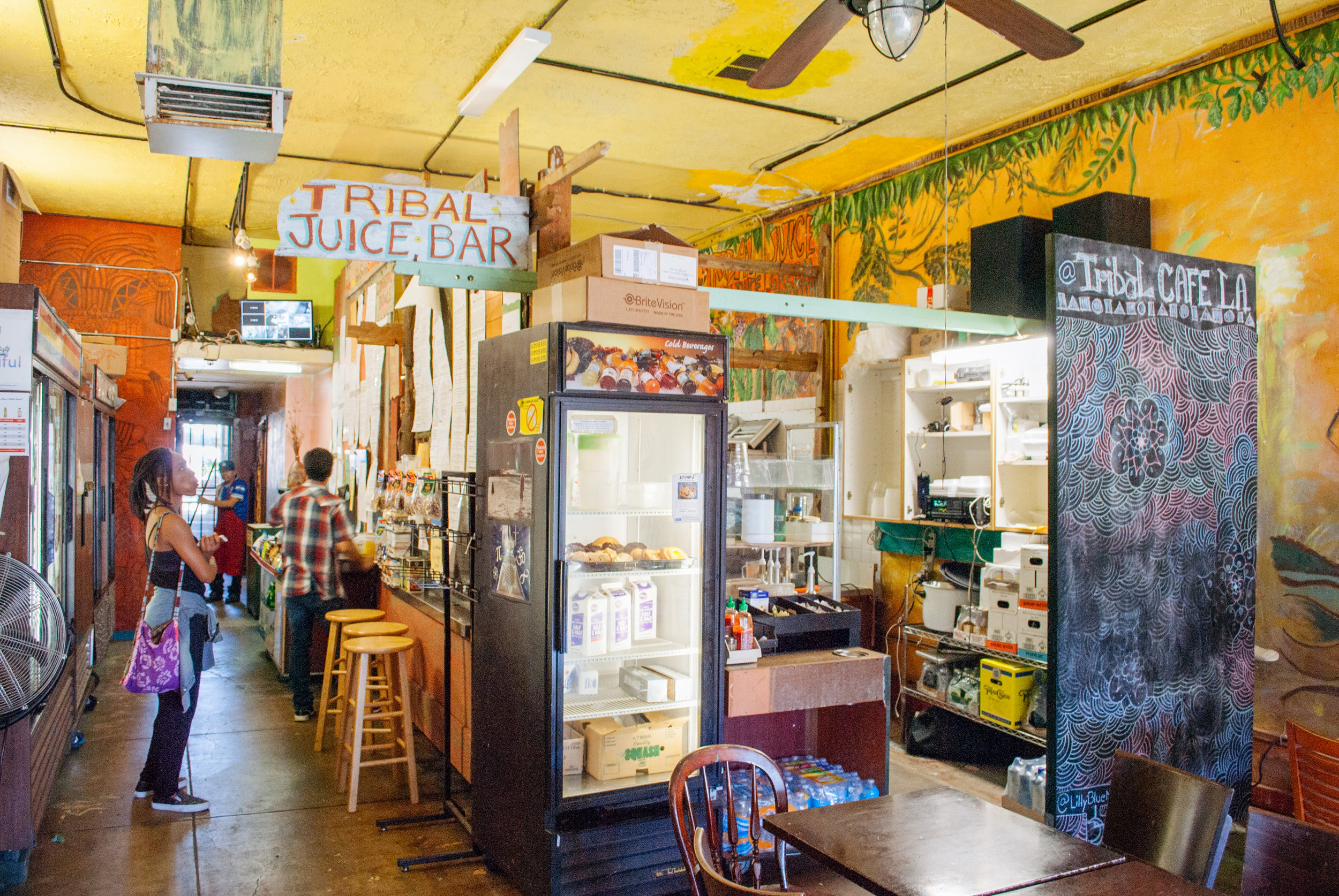 Inside Tribal Café, Los Angeles, CA