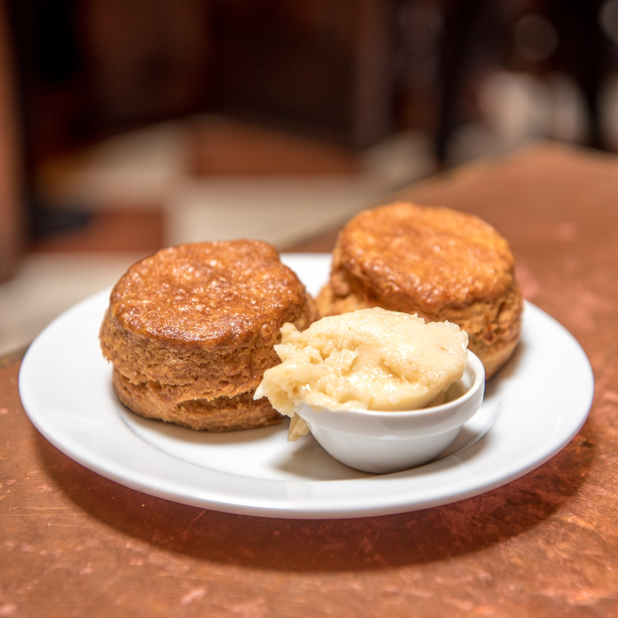 Biscuit with Maple Butter at The Pikey, Los Angeles, CA