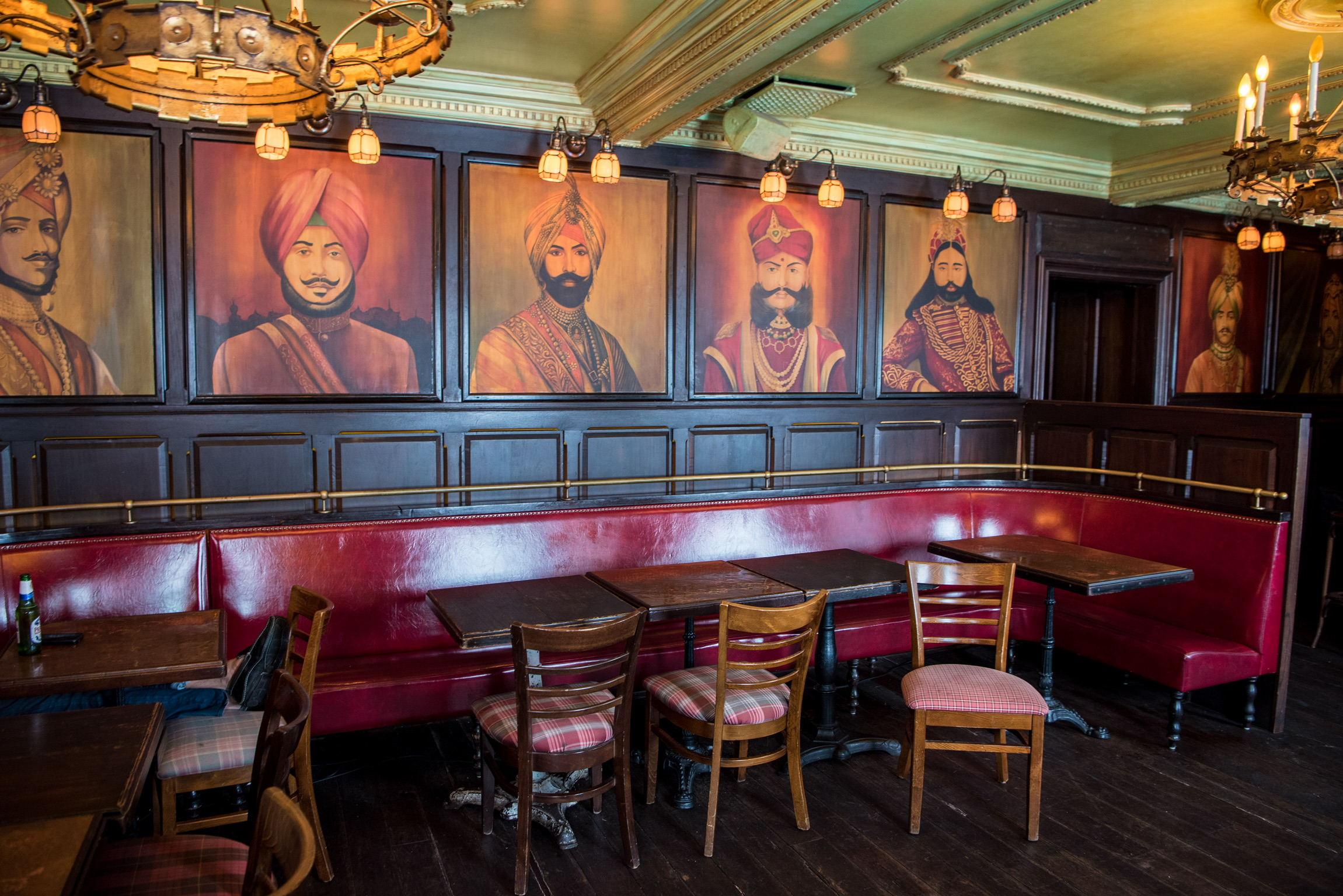 The Maharaja Room at The Pikey, Los Angeles, CA