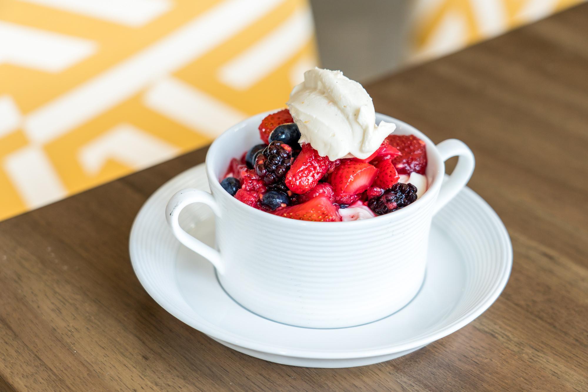 Greek Yogurt Parfait, Blonde Restaurant at Inn at the Pier, Pismo Beach, CA