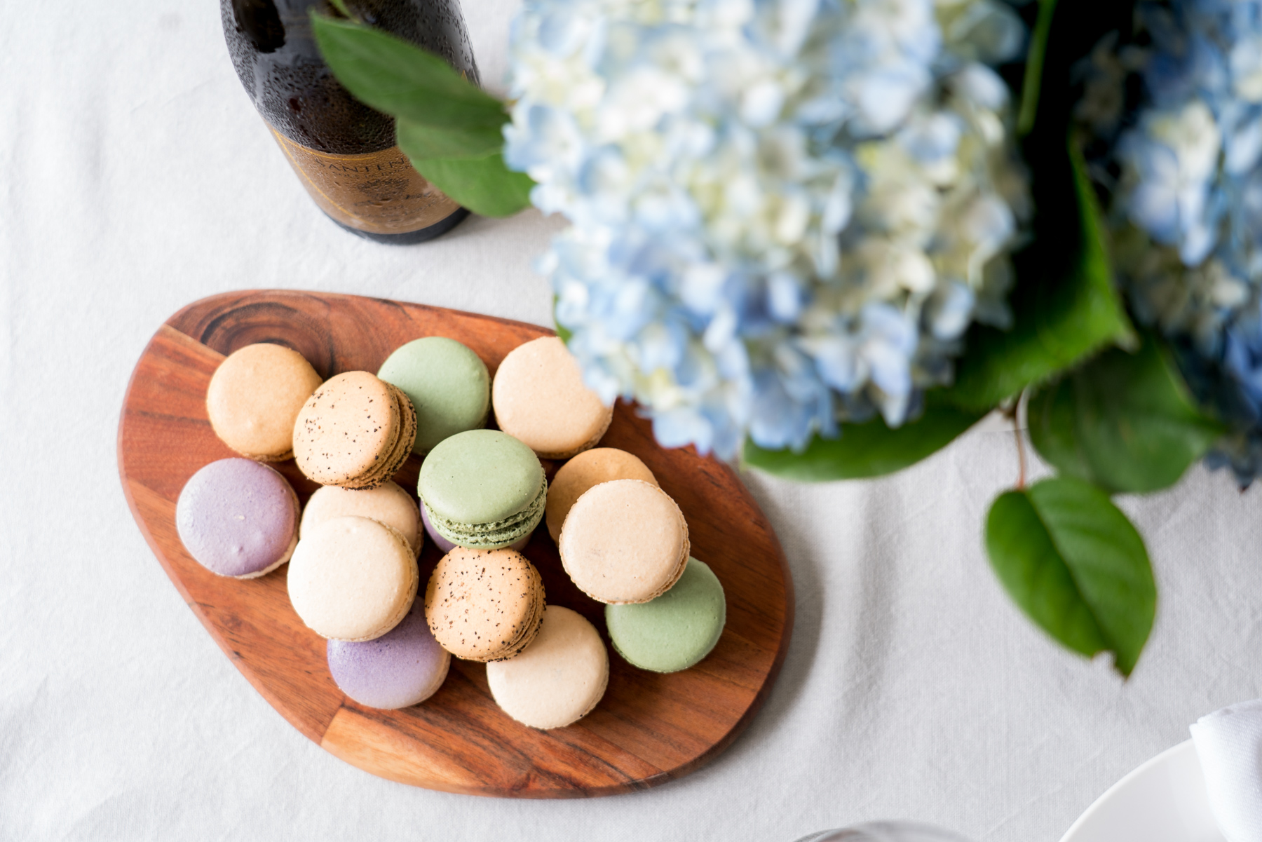 Macarons - Cheese and Charcuterie Board - Brunchographers' French-Inspired Wine Tasting Brunch