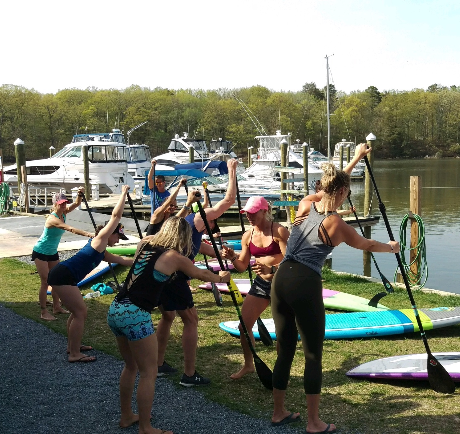 paddleboard lesson 21146