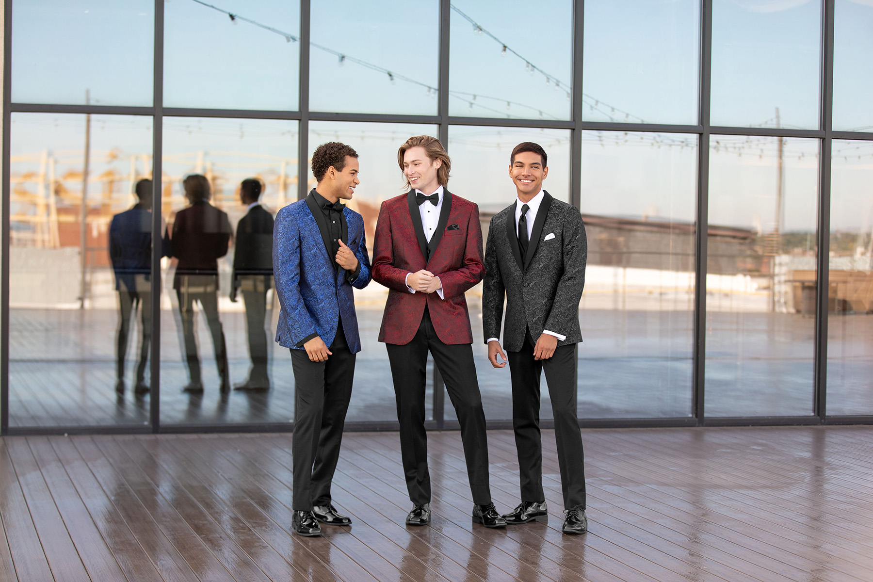 Prom Special: Early Booking! - When you order your Prom Tuxedo between March 1st and March 31st, receive an additional $10 off of your rental.