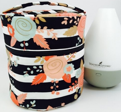 Copy of Diffuser Travel Case - Mint & Peach