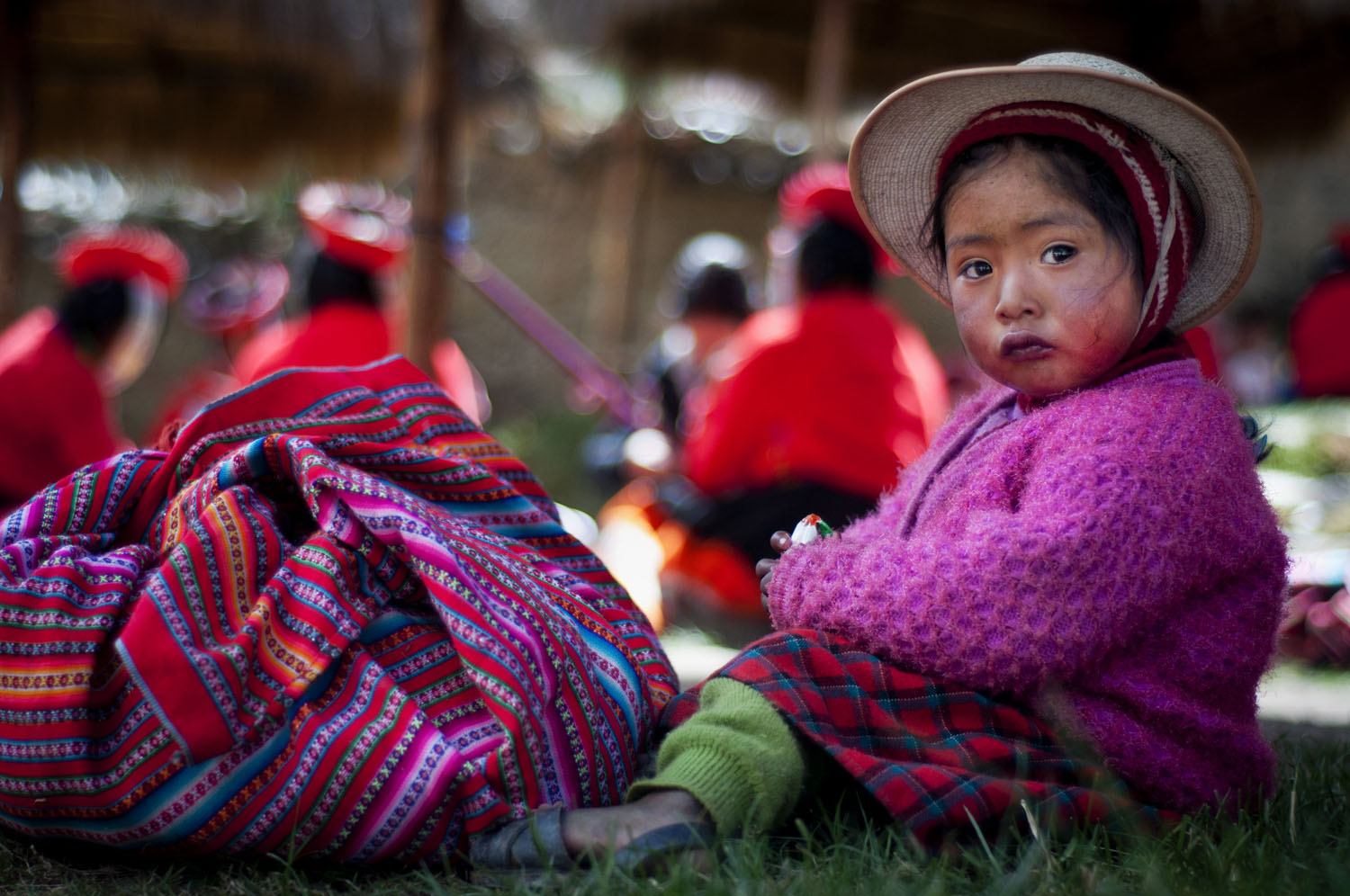 Young Quechuan Girl