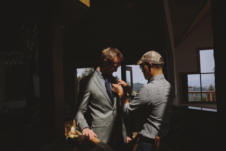 Mt Tamalpais Mountain Home Inn Wedding Rachelle Derouin Photographer-27.jpg