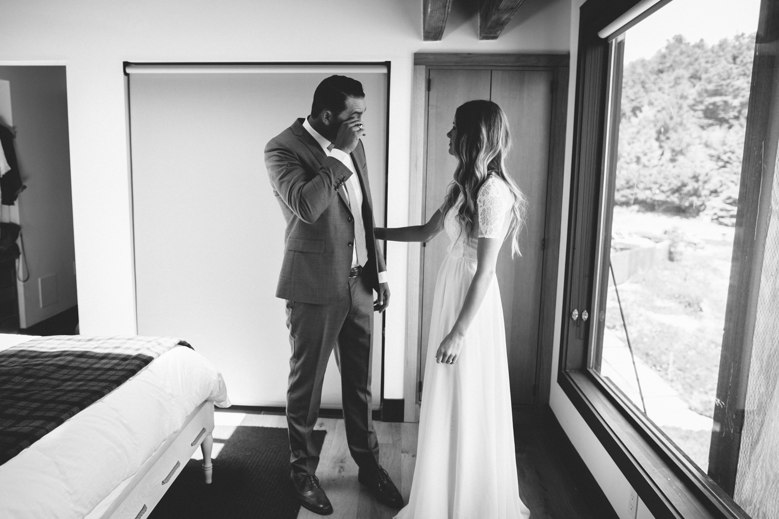 Jenner Cazadero Redwood Wedding Rachelle Derouin Photographer-15.jpg