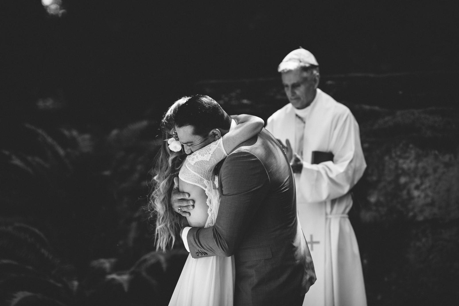 Jenner Cazadero Redwood Wedding Rachelle Derouin Photographer-28.jpg