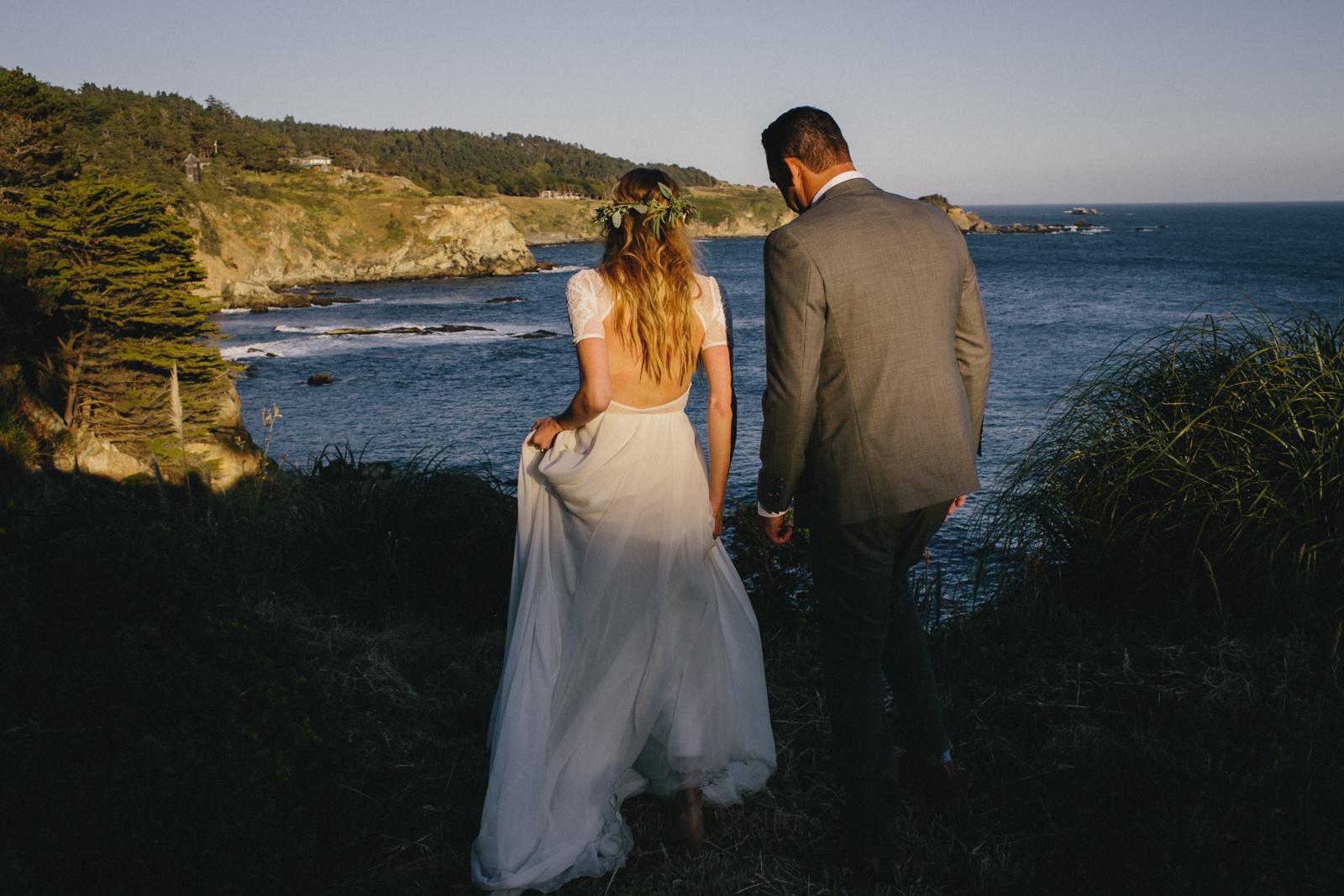 Jenner Cazadero Redwood Wedding Rachelle Derouin Photographer-67.jpg