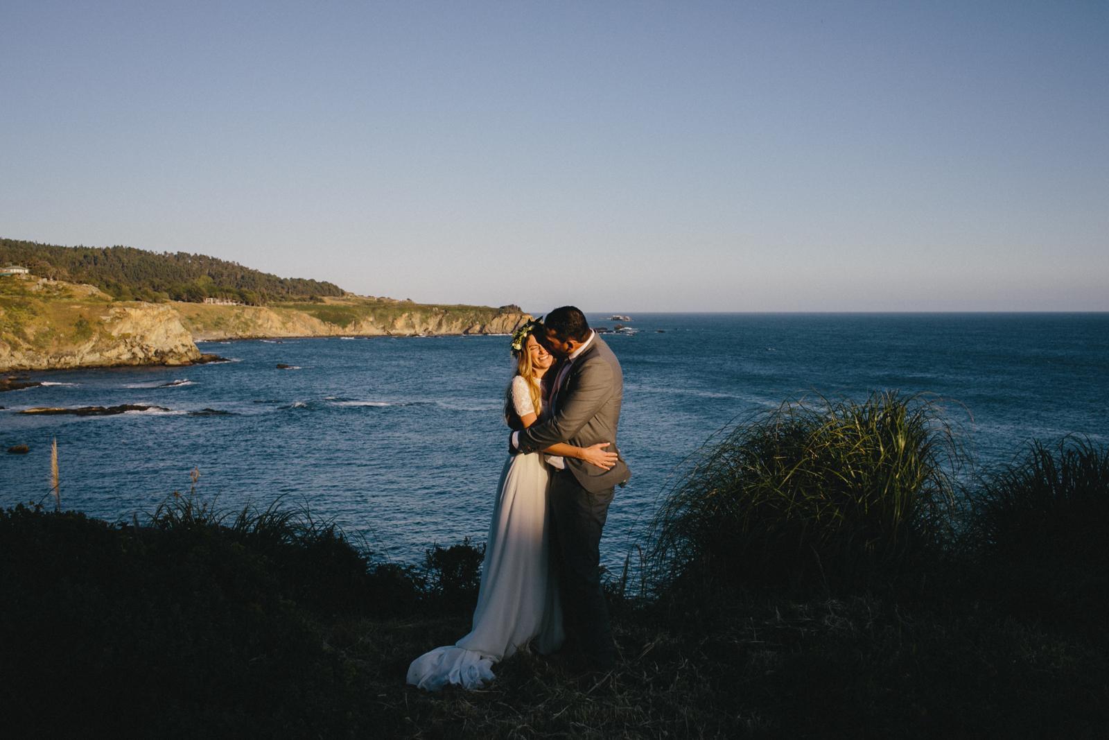 Jenner Cazadero Redwood Wedding Rachelle Derouin Photographer-71.jpg