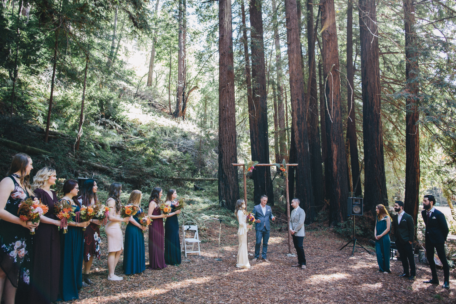 Pescadero Forest Wedding Rachelle Derouin Photographer-24.jpg