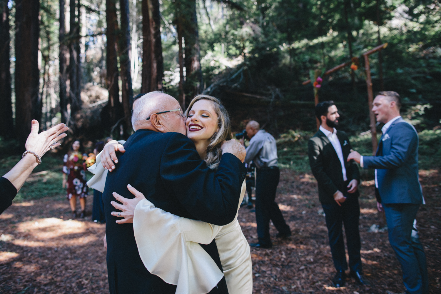 Pescadero Forest Wedding Rachelle Derouin Photographer-35.jpg