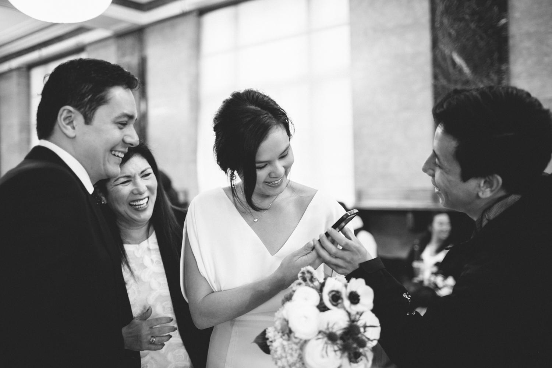 New York City Hall Brooklyn Wedding Rachelle Derouin Photographer-9.jpg
