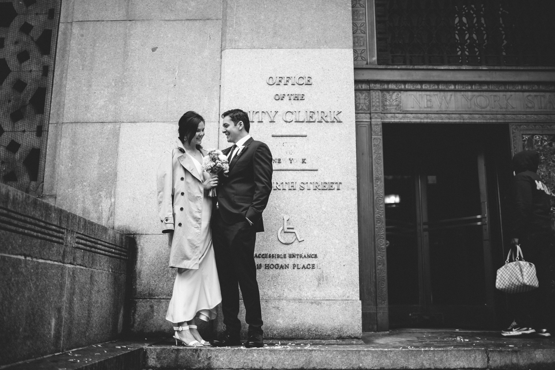 New York City Hall Brooklyn Wedding Rachelle Derouin Photographer-21.jpg