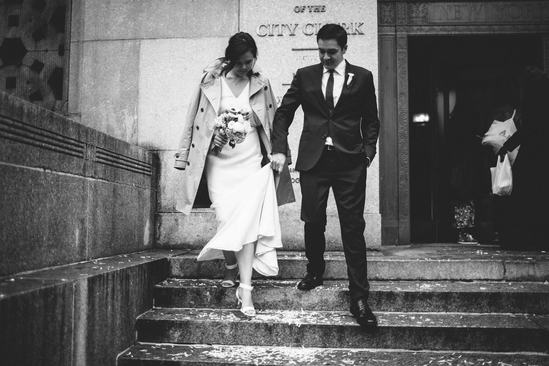 New York City Hall Brooklyn Wedding Rachelle Derouin Photographer-22.jpg