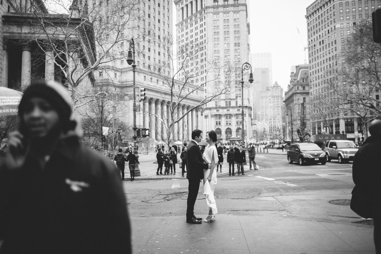 New York City Hall Brooklyn Wedding Rachelle Derouin Photographer-25.jpg