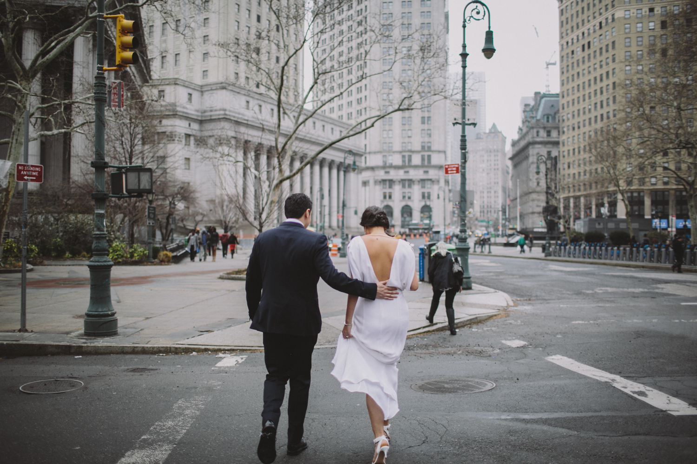 New York City Hall Brooklyn Wedding Rachelle Derouin Photographer-26.jpg