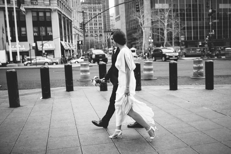 New York City Hall Brooklyn Wedding Rachelle Derouin Photographer-28.jpg