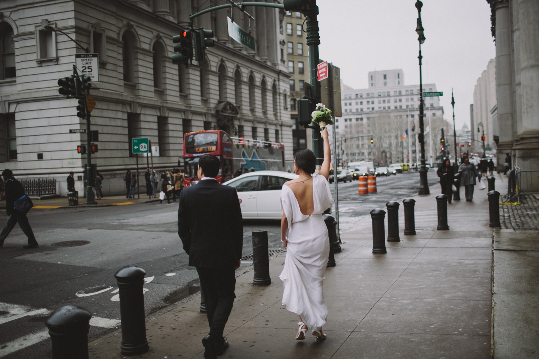 New York City Hall Brooklyn Wedding Rachelle Derouin Photographer-30.jpg
