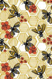 Bee Wall Paper Beehive Shoppe.jpg