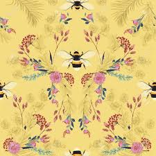Bumble Bee Wall Paper Beehive Shoppe.jpg