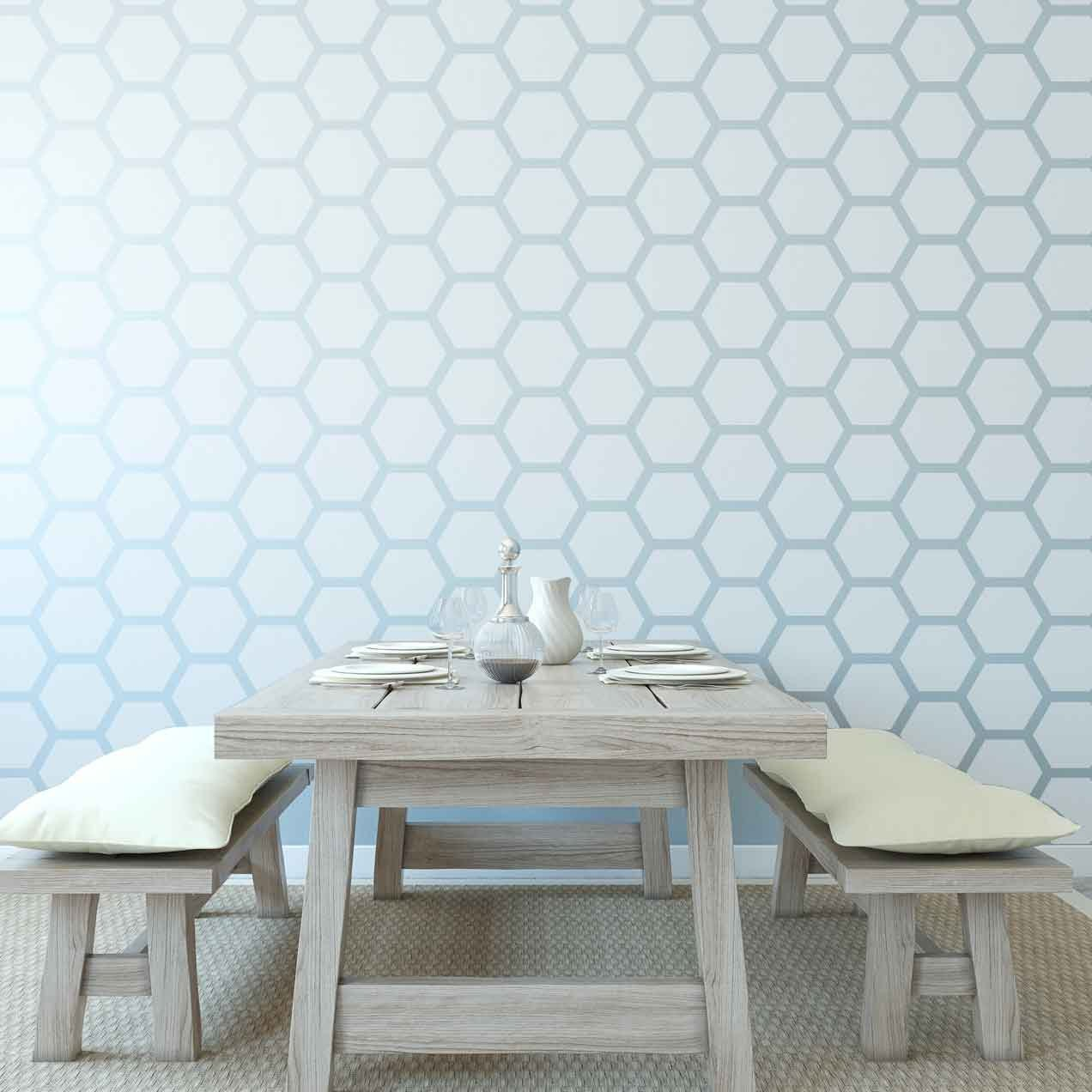Honey Comb Wall Paper Beehive Shoppe.jpg