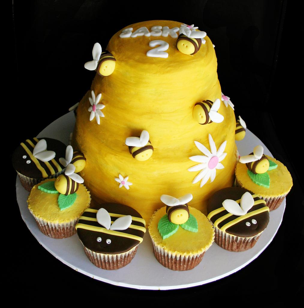 Beehive Shoppe Bee Hive Cup Cake Pan