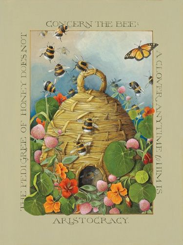 beehive decor bumble bee art00224.jpg
